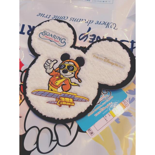 Disney(ディズニー)の【ゆう様専用】ディズニー ソアリン ワッペンバッジ 新商品 エンタメ/ホビーのおもちゃ/ぬいぐるみ(キャラクターグッズ)の商品写真