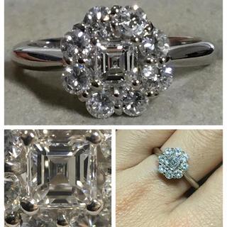 Pt900 とても綺麗なダイヤモンドリング