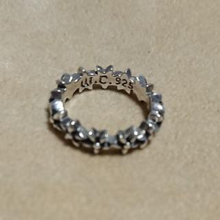 15号 シルバーリング フラワーモチーフ(リング(指輪))