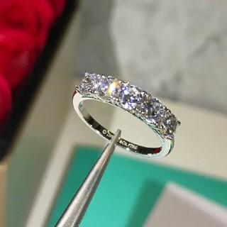 ティファニー(Tiffany & Co.)の Tiffany&Co♡ダイヤ♡リング 7号(リング(指輪))