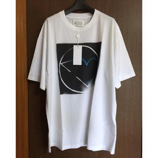 Maison Martin Margiela - 白48 新品 マルジェラ オーバーサイズ Tシャツ ビッグシルエット