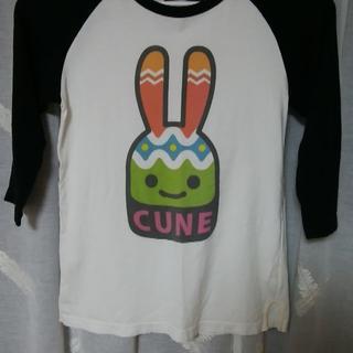 CUNE - CUNEラグラン7分袖Tシャツ