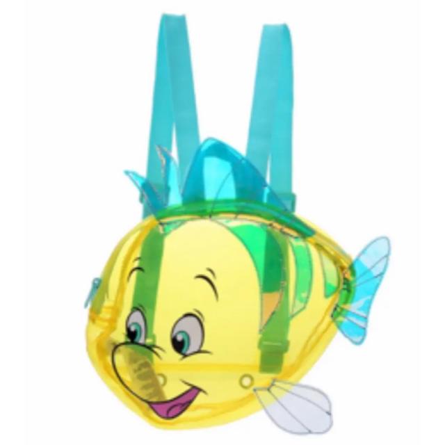 Disney(ディズニー)のアリエル フランダー リュック エンタメ/ホビーのおもちゃ/ぬいぐるみ(キャラクターグッズ)の商品写真