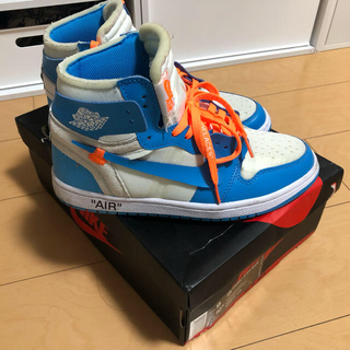 オフホワイト(OFF-WHITE)のNIKE AIR JORDAN OFF-WHITE nike off-white(スニーカー)
