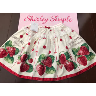 Shirley Temple - 新品 シャーリーテンプル スカート 130