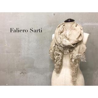 ファリエロサルティ(Faliero Sarti)の【Faliero Sarti】レースストール ショール ファリエロサルティ(ストール/パシュミナ)