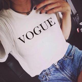 ザラ(ZARA)の VOGUE 流行りのロゴ Tシャツ♡.*゜(Tシャツ(半袖/袖なし))