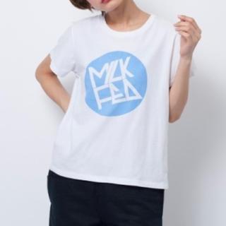 ニコアンド(niko and...)の貴重!nico and ‥.× milk fed コラボ ロゴ Tシャツ(Tシャツ(半袖/袖なし))