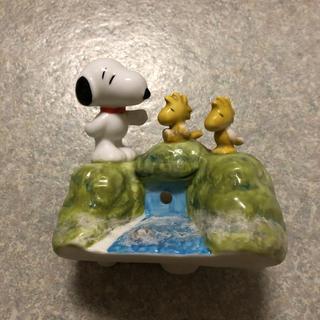 スヌーピー(SNOOPY)のスヌーピー  トイレタンク  ディスプレイ(日用品/生活雑貨)