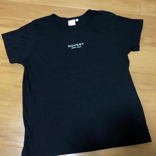 マウジー(moussy)のmoussy☆刺繍ロゴTシャツ(Tシャツ(半袖/袖なし))