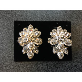Vera Wang - Sparkle Clip on Earring THE BRIDAL HOLIC