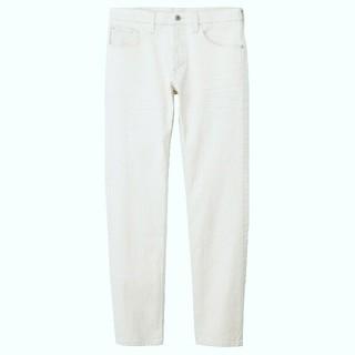 ムジルシリョウヒン(MUJI (無印良品))の新品 無印良品 ホワイトジーンズ 30インチ(デニム/ジーンズ)