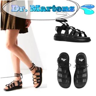 Dr.Martens - Dr. Martens ドクターマーチン 黒 ブラック サンダル 美品 夏 令和