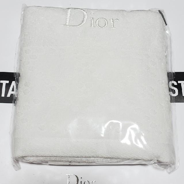 Dior(ディオール)のディオール タオル インテリア/住まい/日用品の日用品/生活雑貨/旅行(タオル/バス用品)の商品写真