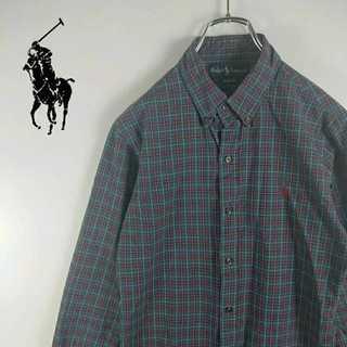 ラルフローレン(Ralph Lauren)の403 ラルフローレン チェックシャツ ポニー刺繍(シャツ)