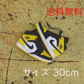 ナイキ(NIKE)の日本未発売 30cm Nike Air Jordan 1 Mid yellow(スニーカー)