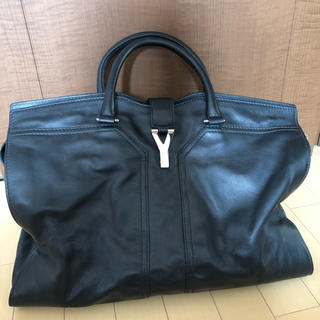Yves Saint Laurent Beaute - イヴサンローラン YSL カバスシック トートバッグ レザー  ブラック 黒