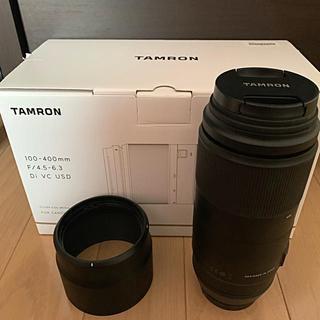 TAMRON - タムロン 100-400mm F4.5-6.3 キヤノン