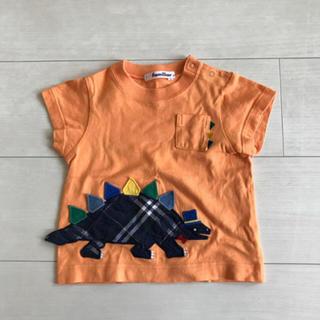 familiar - ファミリア☆大人気きょうりゅうTシャツ80