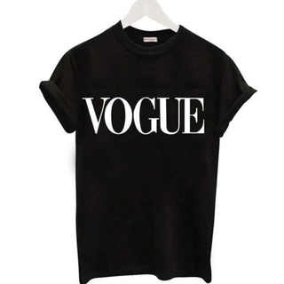 ZARA - 最安値❗️ラスト1点❗️大人気❗️vogue ロゴTシャツ ブラック