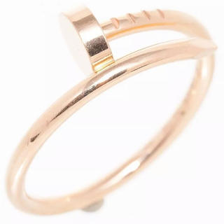 カルティエ(Cartier)のカルティエ リング #55 リング ジュスト アン クル 釘 中古(リング(指輪))