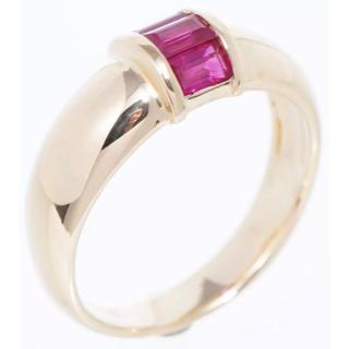 ティファニー(Tiffany & Co.)のティファニー ルビーリング 指輪 中古美品 ゴールド#10(リング(指輪))