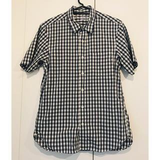 ムジルシリョウヒン(MUJI (無印良品))の無印良品 チェックシャツ  半袖(シャツ)