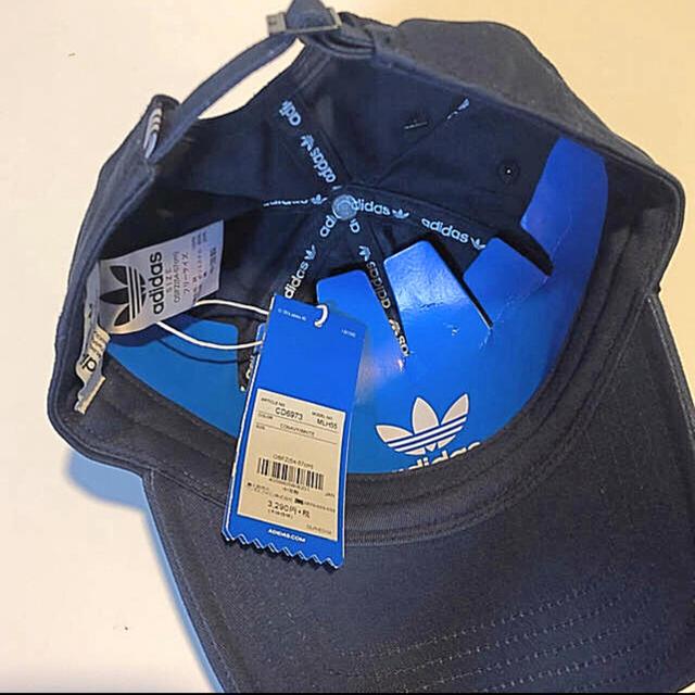 adidas(アディダス)の新品 adidas オリジナルス キャップ 54〜57センチ レディースの帽子(キャップ)の商品写真