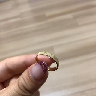 新品未使用 ゴールド リング 7号(リング(指輪))