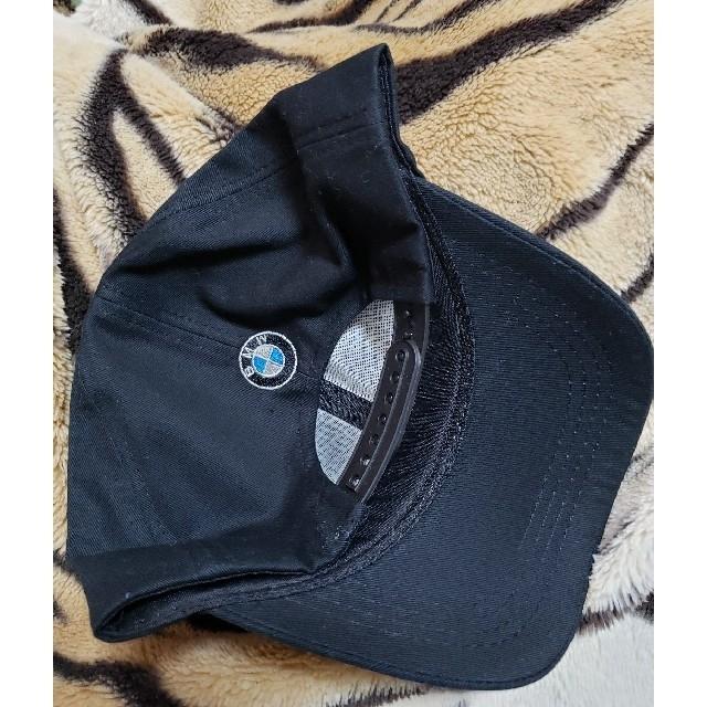 BMW(ビーエムダブリュー)の帽子 BMW ロゴ入り ブラック メンズの帽子(キャップ)の商品写真