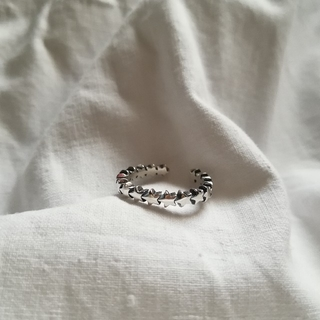 【 New 】silver 925 star ring  * 1