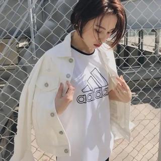 moussy - moussy adidas コラボTシャツ