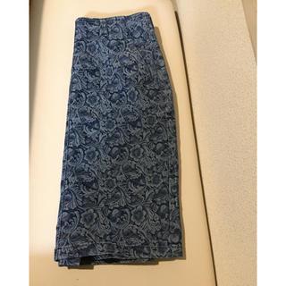 ジーナシス(JEANASIS)のジーナシス   ♡インディゴ染めデニムスカート (ひざ丈スカート)