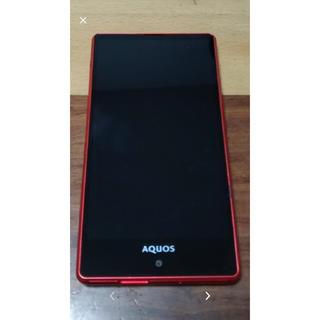 アクオス(AQUOS)のAQUOS   スマホ本体(スマートフォン本体)