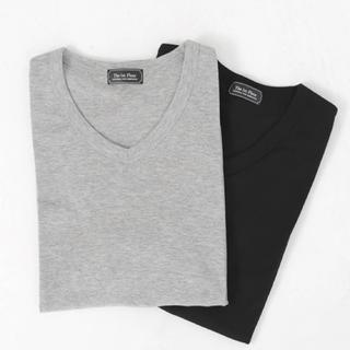 nano・universe - ベーシックTシャツ 2枚セット