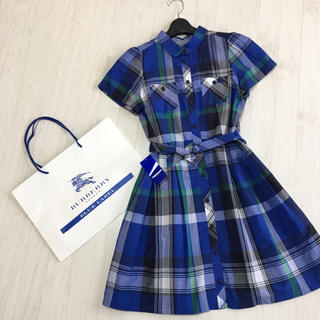 BURBERRY BLUE LABEL - 新品☆バーバリーブルーレーベル シャツ ワンピース 38サイズ