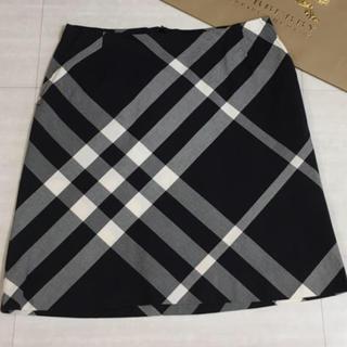 BURBERRY - バーバリー スカート 台形  大きいサイズ