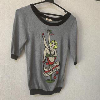 マウジー(moussy)の美品!moussy サマーニット レディース(Tシャツ(半袖/袖なし))