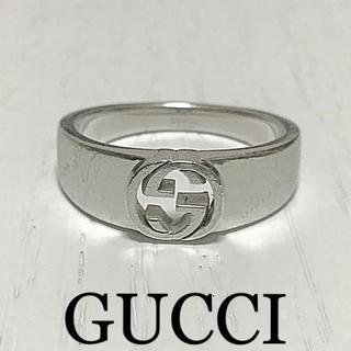 Gucci - 本日価格☆正規品☆GUCCI インターロッキングGG リング