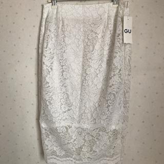 GU - GU レースタイトスカート