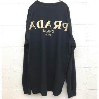 mimic Original Reverse long Tshirt black
