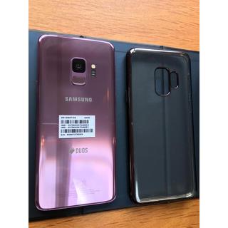ギャラクシー(Galaxy)のギャラクシーGalaxy S9 本体【SIMフリー/デュアルSIM】美品(スマートフォン本体)