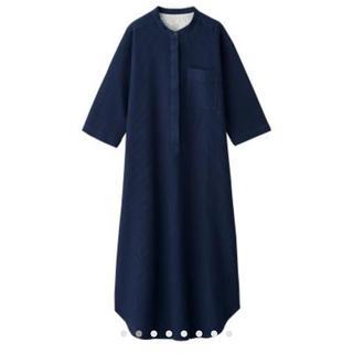 ムジルシリョウヒン(MUJI (無印良品))のワッフル織り 七分袖クルタ・婦人M(ルームウェア)