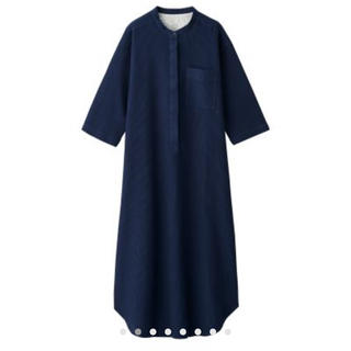 MUJI (無印良品) - ワッフル織り 七分袖クルタ・婦人M