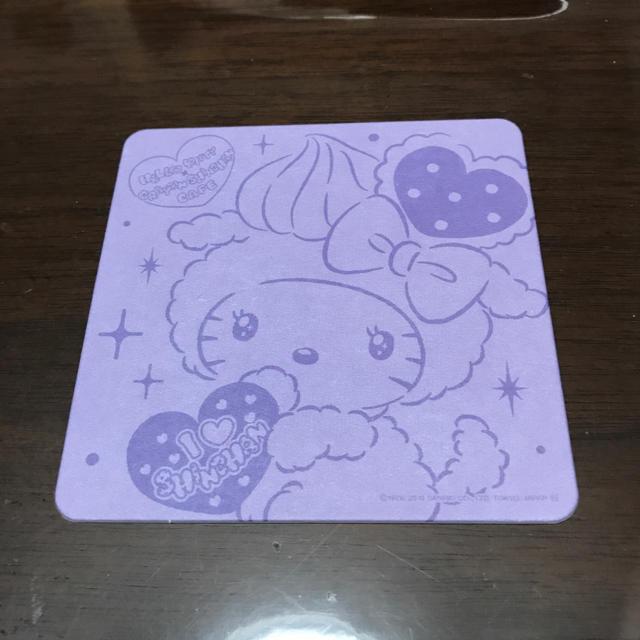 ハローキティ(ハローキティ)のキティ コースター エンタメ/ホビーのおもちゃ/ぬいぐるみ(キャラクターグッズ)の商品写真