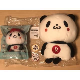 Rakuten - 楽天 お買いものパンダ GORA ぬいぐるみ ゴルフヘッドカバー &マーカー2色