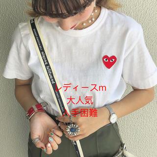 コムデギャルソン(COMME des GARCONS)のレディース半袖Tシャツ❤︎新品❤︎送料込❤︎プレイコムデギャルソン(Tシャツ(半袖/袖なし))