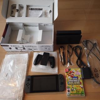 Nintendo Switch - 任天堂switch本体+マリオブラザーズ