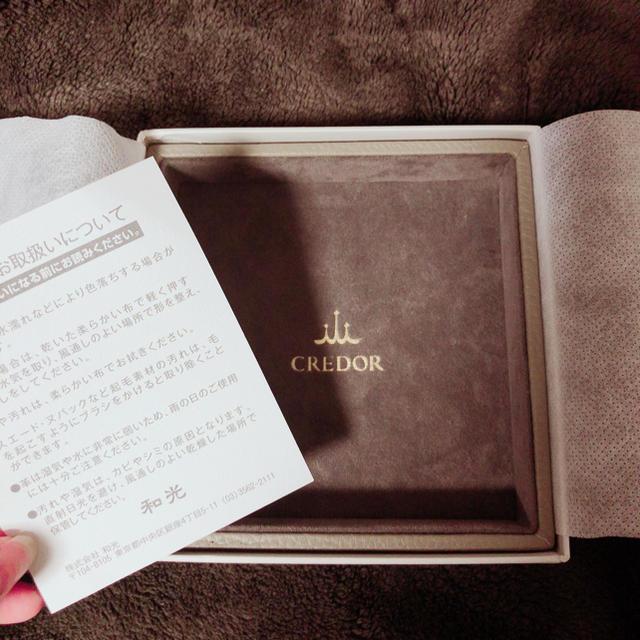 SEIKO(セイコー)の小物入れ 非売品 革製品 和光 クレドール インテリア/住まい/日用品のインテリア小物(小物入れ)の商品写真
