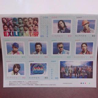 エグザイル(EXILE)の新品☆EXILE エグザイル 切手セット(アイドルグッズ)